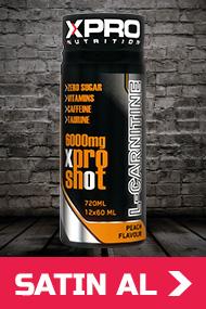 Xpro L-Carnitine Shot 6000mg - 12 Adet