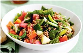 mercimekli çoban salata nasıl yapılır?