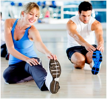 zayıflama ve vücut geliştirme fitness programı